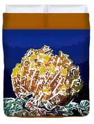 Beautiful Yellow Coral 1 Duvet Cover by Lanjee Chee