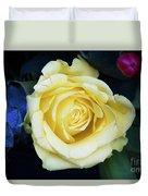 Beautiful Yellow Rose Duvet Cover