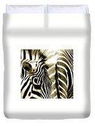 Beautiful Zebras Duvet Cover