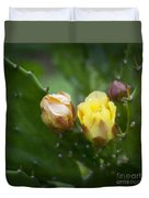 Beauty Among Thorns Duvet Cover