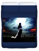 Beauty And The Beast Duvet Cover