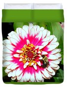 Beauty And The Bee #1 Duvet Cover