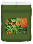 Beauty Attracts Duvet Cover