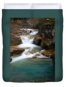 Beauty Creek Cascades Duvet Cover