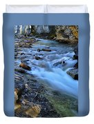 Beauty Creek Duvet Cover by Larry Ricker