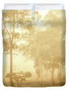 Beauty In A Forest Fog Duvet Cover