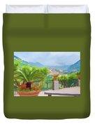 Beauty In Capri Duvet Cover