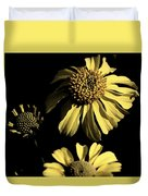 Beauty In The Darkness Duvet Cover