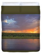 Beauty In The Eye Of The Beholder Duvet Cover