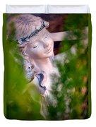 Beauty In The Ferns Duvet Cover