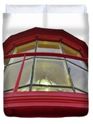 Beauty In The Lighthouse Lens Duvet Cover