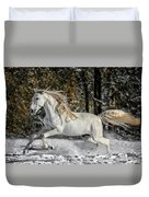 Beauty In The Snow Duvet Cover