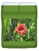 Beauty Of A Poppy  Duvet Cover