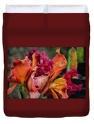 Beauty Of An Orchid Duvet Cover