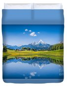 Beauty Of The Alps Duvet Cover