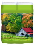 Beauty Of The Leaves Duvet Cover