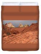 Beauty Of The Sandstone Landscape Duvet Cover