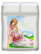 Beauty Of The View Duvet Cover