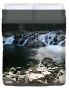 Beauty Of The Washougal River Duvet Cover