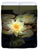 Beauty Of The Water Lily Duvet Cover