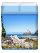 Beauty On The Pacific Coast Duvet Cover