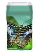 Beauty On The Wing Duvet Cover by Lori Frisch
