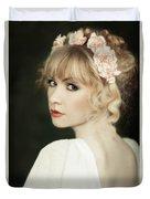 Beauty Portrait Duvet Cover