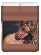 Beauty Portrait Duvet Cover