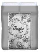 Beauty Duvet Cover