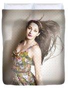 Beauty Salon Pinup Duvet Cover