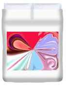 Beauty Shock, Wings Of Imagination Duvet Cover