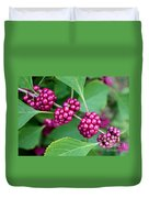 Beautyberry Bush Duvet Cover