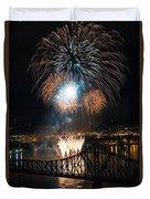 Beaver County Fireworks 2 Duvet Cover