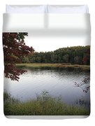 Beaver Lake With A Gentle Breeze Duvet Cover