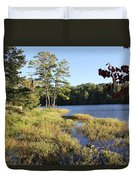 Beaver Lake Scenic View Duvet Cover