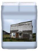 Beaver Lumber Company Ltd Robsart Duvet Cover