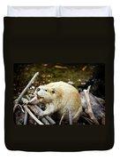 Beaver Duvet Cover