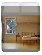 Bed - Infirmary - Fort Larned - Kansas Duvet Cover