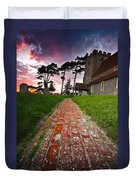 Beddingham Chruch Duvet Cover