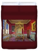 Bedroom At Holkham Hall Duvet Cover