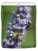 Bee Cause Duvet Cover