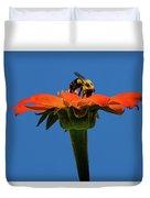 Bee Dreamsicle Duvet Cover
