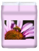 Bee Feasting Duvet Cover