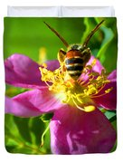 Bee Here Now Duvet Cover