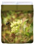 Bee In Flight Duvet Cover
