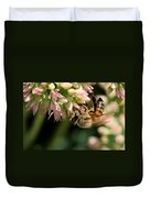 Bee On Flower 1 Duvet Cover