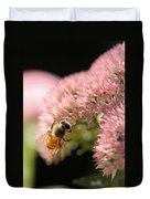 Bee On Flower 3 Duvet Cover