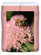 Bee On Flower 4 Duvet Cover