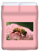 Bee On Flower 6 Duvet Cover