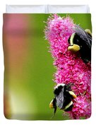 Bee Pink Duvet Cover